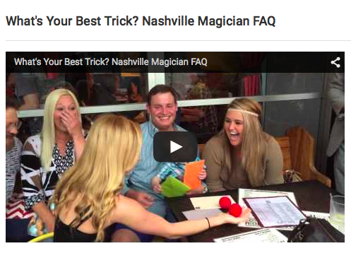 1:55 Minute Video of Amazing Magic Trick, video at bottom of post, WATCH IT!
