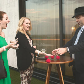 Magic at Grand Opening of New Fairlane Hotel in Nashville