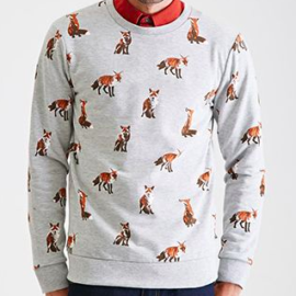The Man Who Wore a Sweater with Foxes All Over It